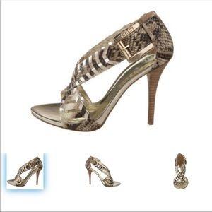 GUESS Snake Skin Design Heel